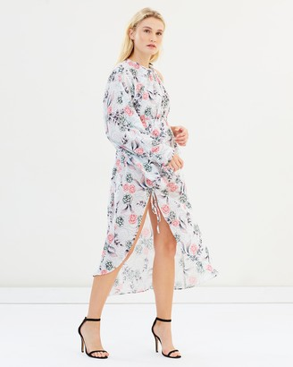 Steele Valencia One-Sleeve Dress