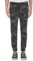 NSF Men's Floral Sweatpants-Black Size S
