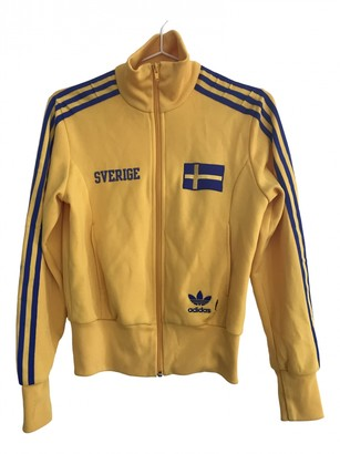 adidas Yellow Polyester Jackets