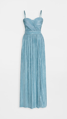 Jonathan Simkhai Rory Strapless Cross Front Gown