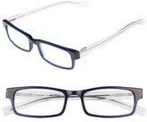 Eyebobs Men's I Ball 52Mm Reading Glasses - Navy With Clear
