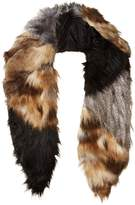Michael Stars Women's Faux-Real Faux Fur Collar Scarf