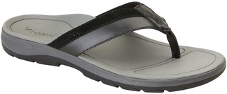 Vionic Men's Leather Toe Post Sandals - Dennis