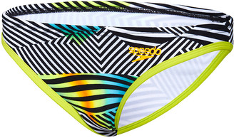 Speedo Womens Sound Waves Low Rise Swim Brief