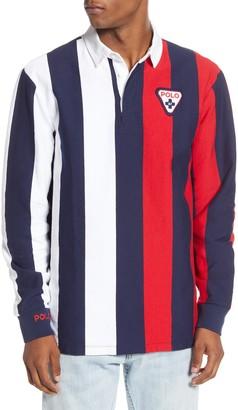 Polo Ralph Lauren Shield Stripe Rugby Shirt