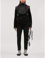 Nike x Matthew M. Williams shell-overlay fleece jacket