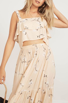 Faithfull The Brand Tiered Floral Crop