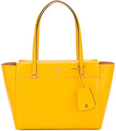 Tory Burch zipped tote bag - women - Leather - One Size