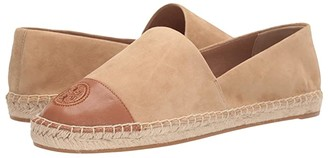 Tory Burch Color Block Flat Espadrille (Blue Yonder/Blue Yonder) Women's Shoes