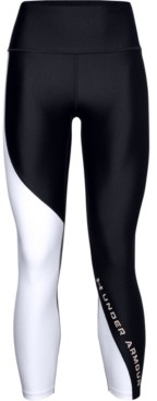 Under Armour Women's HeatGear Colorblocked Compression Leggings