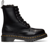 Thumbnail for your product : Dr. Martens Black 1460 Serena Faux-Fur Lined Boots