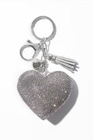 Dynamite Diamond Heart Keychain