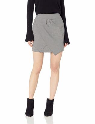BCBGeneration Women's Twist Front Skirt