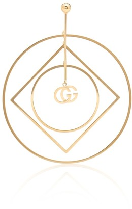 Gucci GG Running 18kt yellow gold single earring