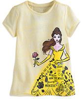 Disney Belle Text Art Tee for Girls