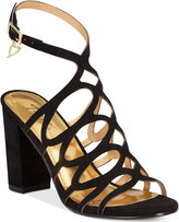 Thalia Sodi Kiarah Block-Heel Dress Sandals, Only at Macy's