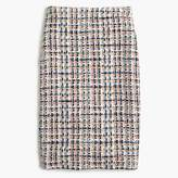 J.Crew Collection pencil skirt in French tweed