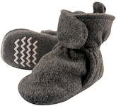 Hudson Baby Dark Gray Fleece-Lined Booties
