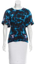 Erdem Abstract Print Short Sleeve Top