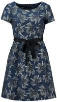 Taifun Cocktail dress / Party dress ocean blue gemustert