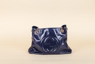 Gucci Soho Medium Patent Leather Shoulder Bag
