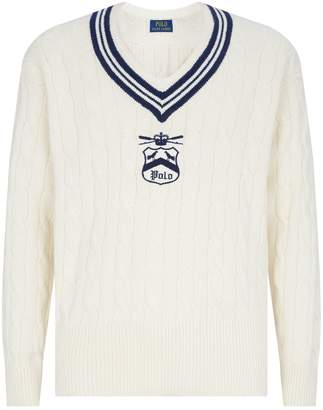 Polo Ralph Lauren V-Neck Cricket Sweater