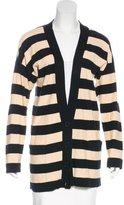 Sonia Rykiel Striped Longline Cardigan