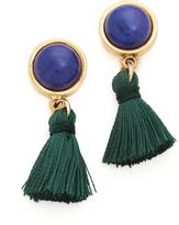 Lizzie Fortunato Tiny Tassel Earrings