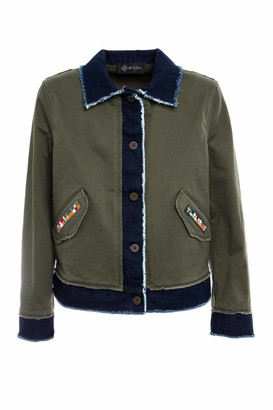 Mr & Mrs Italy Denim And Cottoncavalry Jacket For Woman
