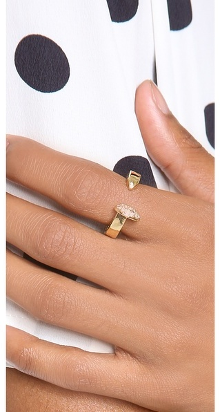 Giles & Brother Railroad Spike Pave Ring