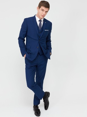Very Man StretchRegular Suit Trousers - Blue