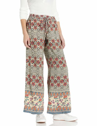 Angie Women's Wide Leg Pant with Tassel