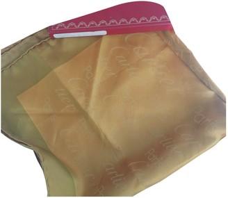 Cartier Gold Silk Scarves