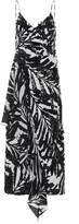 Michael Kors Embellished Ruffle Dress