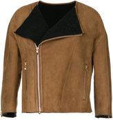 ASTRAET zip up cropped coat