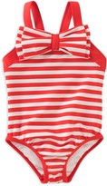 Kate Spade Girls' Striped Bow Swimsuit