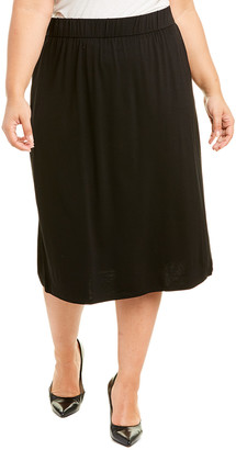 Eileen Fisher Plus A-Line Skirt