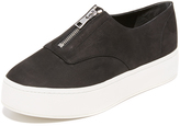 Vince Warner Zip Up Sneakers