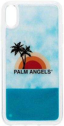 Palm Angels Sunset-print iPhone XS Max case