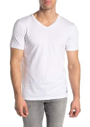 Scotch & Soda Short Sleeve V-neck Jersey Knit T-shirt