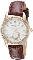 Stuhrling Original Women's 561.05 Countess Analog Display Quartz Burgundy Watch