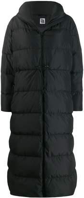 Bacon hooded padded coat
