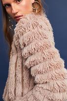 Greylin Cordella Faux Fur Cardigan