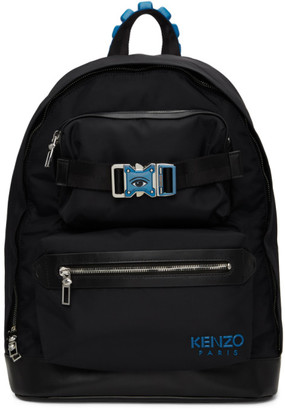 Kenzo Black Large Link Backpack