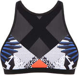 We Are Handsome The Azul Active High Neck Top