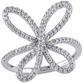 Allura 0.45 CT. T.W. Cubic Zirconia Butterfly Ring in Sterling Silver