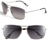 Maui Jim 'Wiki Wiki - PolarizedPlus ® 2' Aviator 59mm Sunglasses