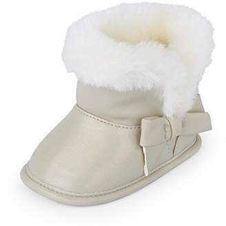 Children's Place The Girls' Fur Lined Boots Fashion