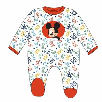 Artesania Cerda Baby Boys' Pelele Mickey Footies