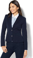 New York & Co. 7th Avenue Jacket - Two-Button - Navy